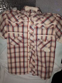 selection of mens shirts size large