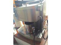 Coffee Machine - DeLonghi (includes stainless steel milk jug)