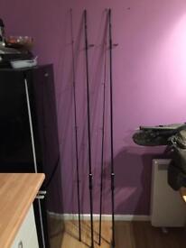 2 Greys prodigy carp fishing rods
