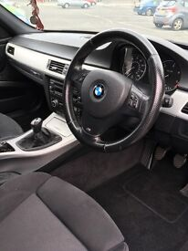 60 plate BMW 320d saloon msport. Ice Blue. Less than 2k miles on rebuilt engine. New clutch.