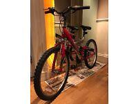 "24"" wheel Magna bike with suspension"