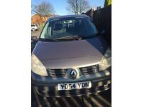 RENAULT SCENIC 1.6 54 plate