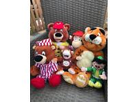 Haven collection of original teddies inc Roary and Bradley