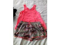 Cute shorts set.