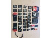 Micro Sd , SD , Usb , Flash , all memory .
