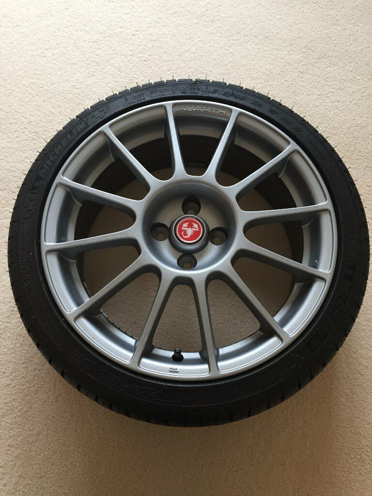 Abarth 500 Esse Esse nd new wheels and tyres in Titanium. | in ...