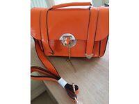 Ladies Orange Handbag NEW
