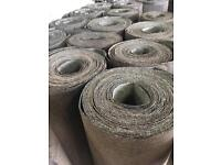 Green mineral roofing felt