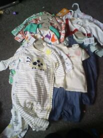 Girls bundle clothes from newborn to 9 months