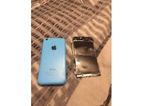 Iphone 5c Needs New Screen. Sold As Spares Repairs Only