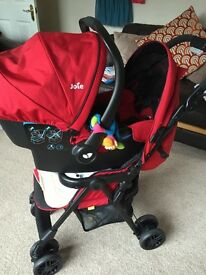 Pram and car seat system for sale