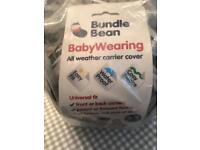Baby carrier cover. BUNDLE BEAN.