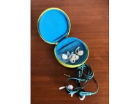 BOSE SPORTS EAR PHONES AND BOSE CASE