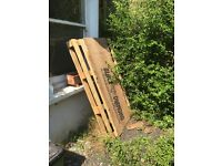 Wooden Pallet - FREE - collection only