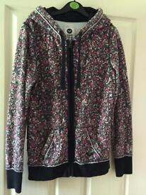 Floral Roxy Hoodie - Size S