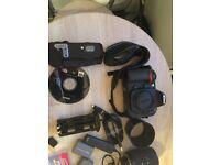 Nikon DSLR Camera and accessories