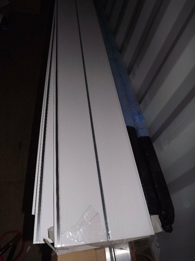 Upvc White Amp Chrome Ceiling Wall Cladding 11 Lengths