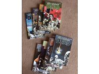 Walking Dead Graphic Novels - Volumes 2 - 9