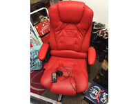 New Faux Leather Exec 6-Point Massage Chair Cost £87+ Relieves Back & Muscle Tension/Fatigue/Stress