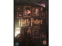 Harry Potter full 8 movie DVD collection - unopened