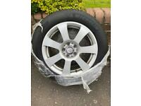 4 Mercedes wheels and tyres