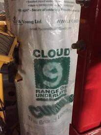 Cloud 9 cumulus 11mm thick carpet underlay