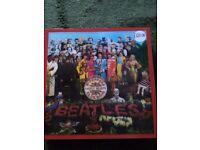 Beatles 50th anniversary box set Sgt peppers plus double album 180gram