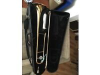 Yamaha Trombone plus stand and hard case. YSL 634 & K&M stand
