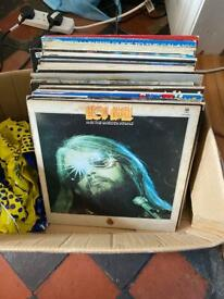 "Job lot of Lps and 12"" singles (40 total)"