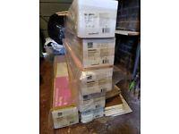 Brand new real wood laminate flooring - 6 packs (8m2)