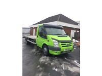 2010 FORD TRANSIT FLATBED RECOVERY TRUCK
