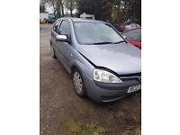2004 VAUXHALL CORSA 1.0 CYL PETROL BREAKING FOR PARTS