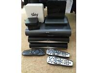Sky boxes job lot