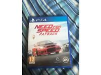Need for speed pay back ps4 game