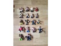 Miniature wrestling figures