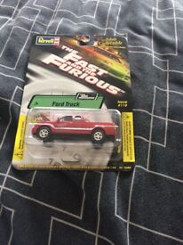 Fast and Furious Paul Walkers Red Truck