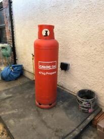Portable gas bottle