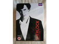 SHERLOCK SERIES 1-3 DVD BOX SET