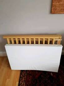 Good quality cot with mattress ready to go