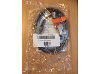 Kensington Dell Microsaver Keyed Laptop Security Lock Cable & 2 Keys