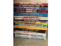 22 Dandy & Beano Annuals