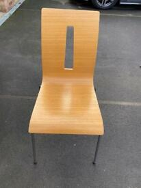 Dan form dining chairs from Denmark