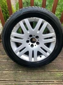 "BMW 18"" Alloy Michelin Tyre"