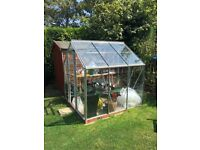 FOR SALE: Greenhouse 2mx2m (6ftx6ft) Glass with Metal Frame