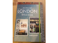 London Style Guide Book - Brand New unwanted Xmas gift