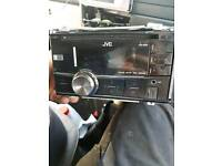 Jvc double din headunit
