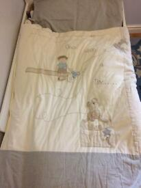 Mamas and papas quilt and pillow case