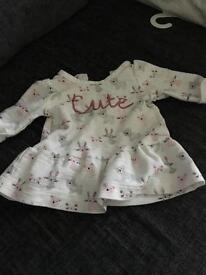 Tiny baby girls clothes