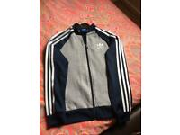 Boys Adidas tracksuit top size 11/12 Years
