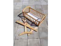 Swinging Crib (John Lewis Anna)